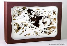 L'ornithorynque périgourdin | Tableau 3D, découpe laser - L'écureuil blanc