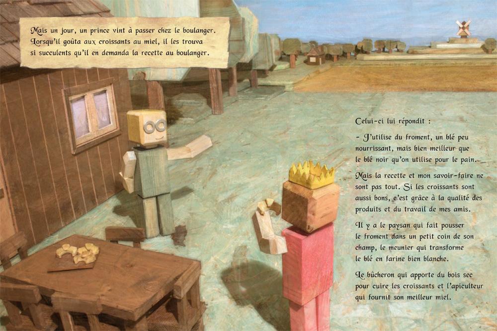 L'ornithorynque périgourdin | Livres - Le boulanger des croissants 01