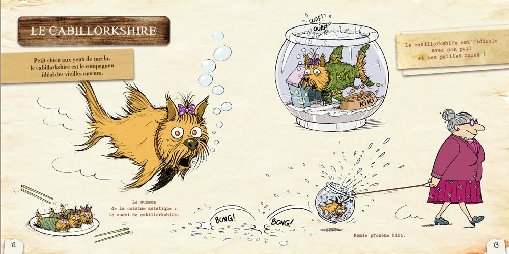 L'ornithorynque périgourdin | Livres - Le bestiaire loufoque 01