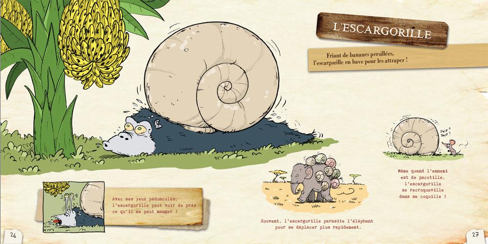 L'ornithorynque périgourdin | Livres - Le bestiaire loufoque 02