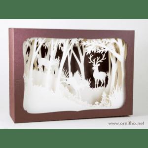L'ornithorynque périgourdin | Tableau 3D, découpe laser – Le cerf  blanc