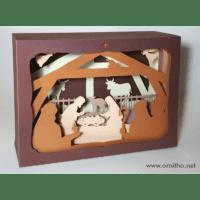 L'ornithorynque périgourdin | Tableau 3D, découpe laser, crèche couleur