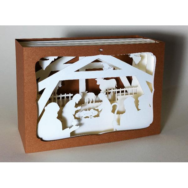 L'Ornithorynque périgourdin - Carte postale 3D - Découpe laser - la crèche