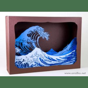 L'ornithorynque périgourdin | Tableau 3D, découpe laser – La vague