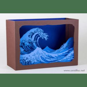 L'Ornithorynque périgourdin – Carte postale 3D – Découpe laser – la vague